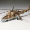 1:72 Scale Tamiya Mil Mi-24 Hind Helicopter Model Kit #