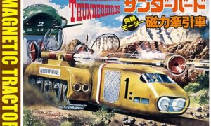 1:72 Scale Aoshima Thunderbirds Magnetic Tractor Model Kit #