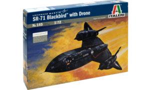 1:72 Scale Italeri SR-71 Black Bird Model Kit #