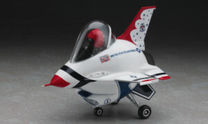 1:Egg Hasegawa F-16 Thunderbirds Eggplane Series Model Kit #