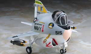 1:Egg Hasegawa A-6 Intruder Eggplane Series Model Kit #