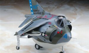 1:Egg Hasegawa AV-8 Harrier Eggplane Series Model Kit #