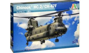 1:48 Scale Italeri RAF CH-47F Chinook Model Kit #