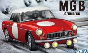 1:24 Scale Aoshima MG MGB Club Rally