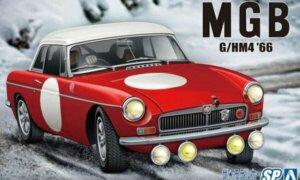 1:24 Scale Aoshima MG MGB Club Rally