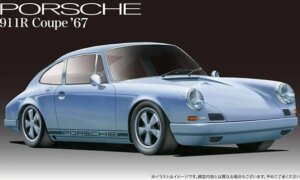 1:24 Scale Fujimi Porsche 911R Coupe'67 Model Kit #