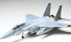 1:48 Scale Tamiya McDonnell Douglas F-15C Eagle Model Kit #
