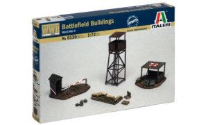 1:72 Scale Italeri WW2 Diorama Models – Battlefield Buildings #