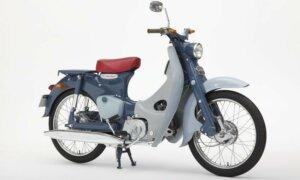 1:12 Scale Fujimi Honda Super Cub C100 1958 Bike Model Kit #