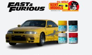 1:24 Scale Fast & Furious Leon's R33 Skyline Paint Bundle