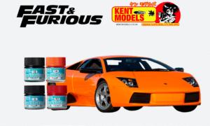 1:24 Scale Fast & Furious Roman's Lamborghini Murcielago Paint Bundle