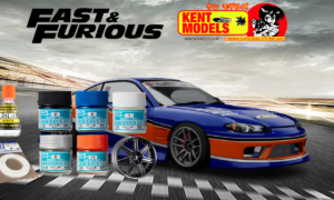 1:24 Scale Fast & Furious Hans Mona Lisa S15 Kit And Paint Full Bundle