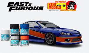 1:24 Scale Fast & Furious Hans Mona Lisa S15 Paint Bundle