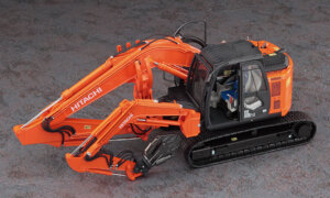 1:35 Scale Hasegawa Hitachi Astaco Neo Crusher/Cutter Model Kit