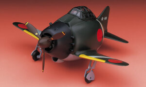 1:Egg Hasegawa Zero Fighter Eggplane Series Model Kit #