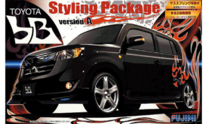 1:24 Scale Fujimi Toyota Scion bB Styling Package Model Kit