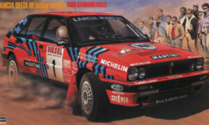 1:24 Scale Hasegawa CR8 Lancia Delta HF Integrale 16V 1989 Sanremo Rally Model Kit