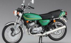 1:12 Scale Hasegawa Kawasaki KH250-B3/B4 (1978/1979) Model Kit