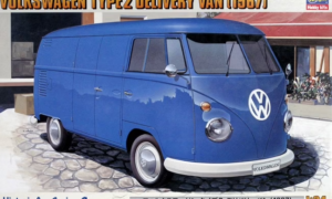 1:24 Scale Hasegawa Volkswagen Type2 Delivery Van 1967 Model Kit