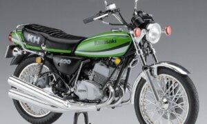 1:12 Scale Hasegawa Kawasaki KH400-A7 1979 Model Kit
