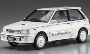 1:24 Scale Hasegawa Toyota Starlet EP71 Turbo-S (3 Door) Late Version 1988 Model Kit