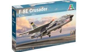 1:72 Scale Italeri F-8E Crusader Model Kit #