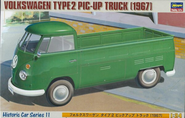 1:24 Scale Hasegawa Volkswagen Type2 Pick Up Truck Model Kit