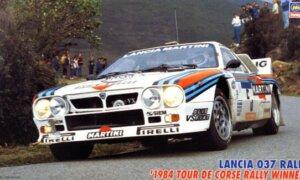 1:24 Scale Hasegawa Lanica 037 Rally '84 Tour De Corse Rally Winner Model Kit