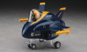1:Egg Hasegawa F/A-18 Blue Angels Eggplane Series Model Kit #