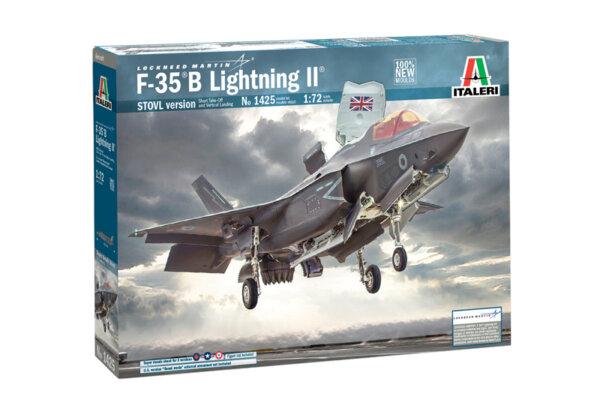 1:72 Scale Italeri RAF F-35 B Lightning II STOVL Version Model Kit #