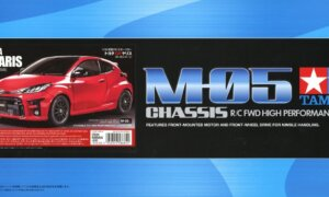 1:10 Scale Tamiya Toyota GR Yaris M-05 Radio Control Model Kit