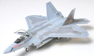 1:72 Scale Tamiya F-22 RAPTOR Model Kit