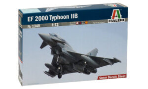 1:72 Scale Italeri EF 2000 TYPHOON IIB