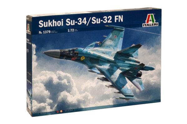 1:72 Scale Italeri Sukhoi SU-34 Fullback Model Kit