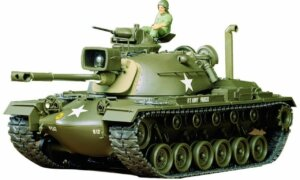 1:35 Scale Tamiya U.S. M48A3 Patton Tank Model Kit #