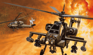 1:72 Scale Italeri AH - 64 APACHE