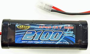 Carson 7.2V 2100 MAH BATTERY For Radio Control Kits