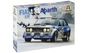 1:24 Scale Italeri Fiat 131 Abarth Rally Model Kit #