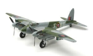 1:48 Scale Tamiya RAF De Havilland Mosquito FB Mk.VI/NF Mk.II Model Kit #