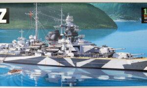 1:350 Scale Tamiya German Battleship Tirpitz Model Kit #