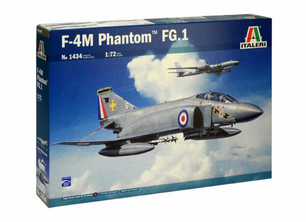 1:72 Scale Italeri RAF F-4M Phantom FG.1 Model Kit #