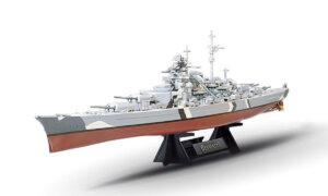 1:350 Scale Tamiya German Battleship Bismarck Model Kit #