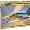 1:48 Scale Zvezda YAK-130 Russian Light Ground-Attack Aircraft Model Kit #