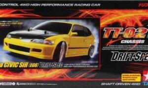 1:10 Scale Tamiya Honda Civic Drift TT-02D RC Model Kit