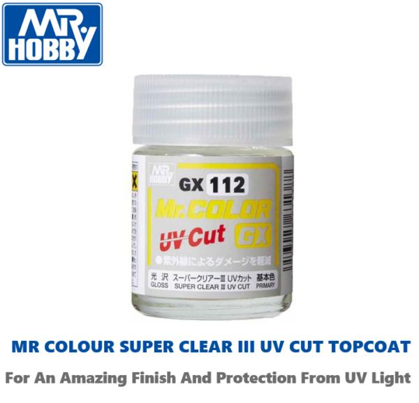 Mr Color Super Clear III UV Cut Top Coat Lacquer GLOSS #