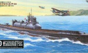 1:350 Scale Tamiya Japanese Navy Submarine I-400 Model Kit #