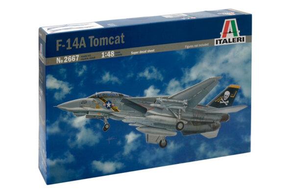 1:48 Scale Italeri F-14 A Tomcat Model Kit #