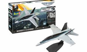 1:72 Scale Revell Top Gun Maverick's F/A-18E Super Hornet Easy Click Model Kit