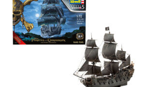 1:72 Scale Limited Edition Pirates of Caribbean Black Pearl Model Kit