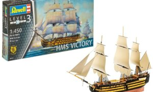 1:225 Scale Revell HMS Victory